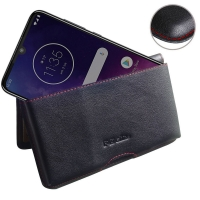 10% OFF + FREE SHIPPING, Buy the BEST PDair Handcrafted Premium Protective Carrying Motorola One Zoom Leather Wallet Pouch Case (Red Stitch). Exquisitely designed engineered for Motorola One Zoom.