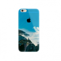 Mountain Cloud Scenery iPhone 6s 6 Plus SE 5s 5 Pattern Printed Soft Case