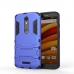 Moto X Force Tough Armor Protective Case (Blue) custom degsined carrying case by PDair