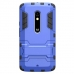 Moto X Play Tough Armor Protective Case (Blue) handmade leather case by PDair