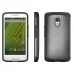 Moto X Play Hybrid Combo Aegis Armor Case Cover (Grey) protective carrying case by PDair