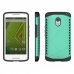 Moto X Play Hybrid Combo Aegis Armor Case Cover (Green) protective carrying case by PDair