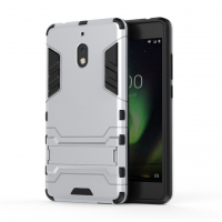 10% OFF + FREE SHIPPING, Buy the BEST PDair Premium Protective Carrying Nokia 2.1 Tough Armor Protective Case (Silver). Exquisitely designed engineered for Nokia 2.1.