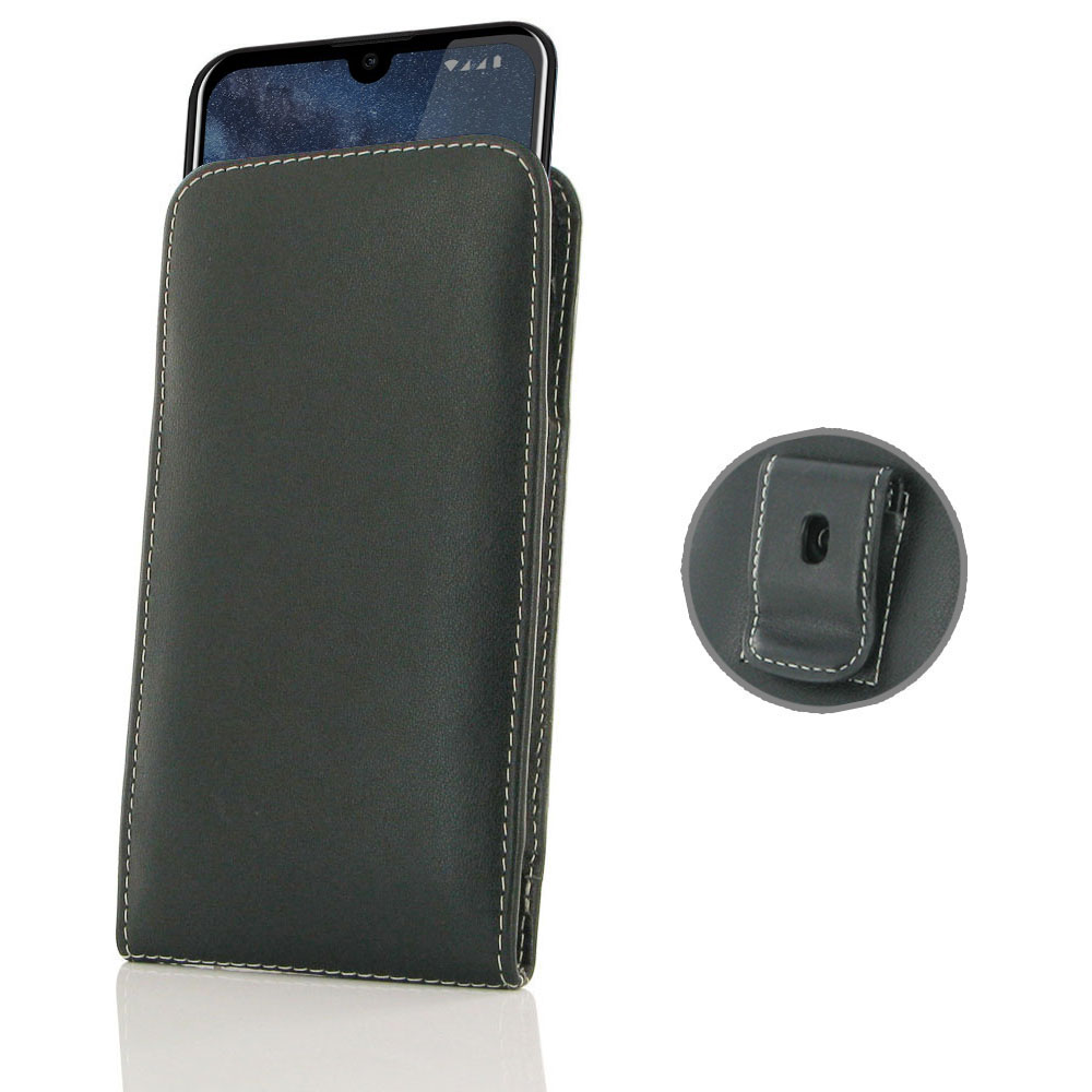 10% OFF + FREE SHIPPING, Buy the BEST PDair Handcrafted Premium Protective Carrying Nokia 2.2 Pouch Case with Belt Clip is custom designed to provide full protection with our traditional design. This handmade carrying case allows you to place the device a
