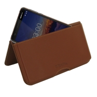 10% OFF + FREE SHIPPING, Buy the BEST PDair Handcrafted Premium Protective Carrying Nokia 3.1 Leather Wallet Pouch Case (Brown). Exquisitely designed engineered for Nokia 3.1.