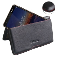10% OFF + FREE SHIPPING, Buy the BEST PDair Handcrafted Premium Protective Carrying Nokia 3.1 Leather Wallet Pouch Case (Red Stitch). Exquisitely designed engineered for Nokia 3.1.