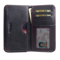 10% OFF + FREE SHIPPING, Buy the BEST PDair Handcrafted Premium Protective Carrying Nokia 2.2 Leather Wallet Sleeve Case (Red Stitch). Exquisitely designed engineered for Nokia 2.2.