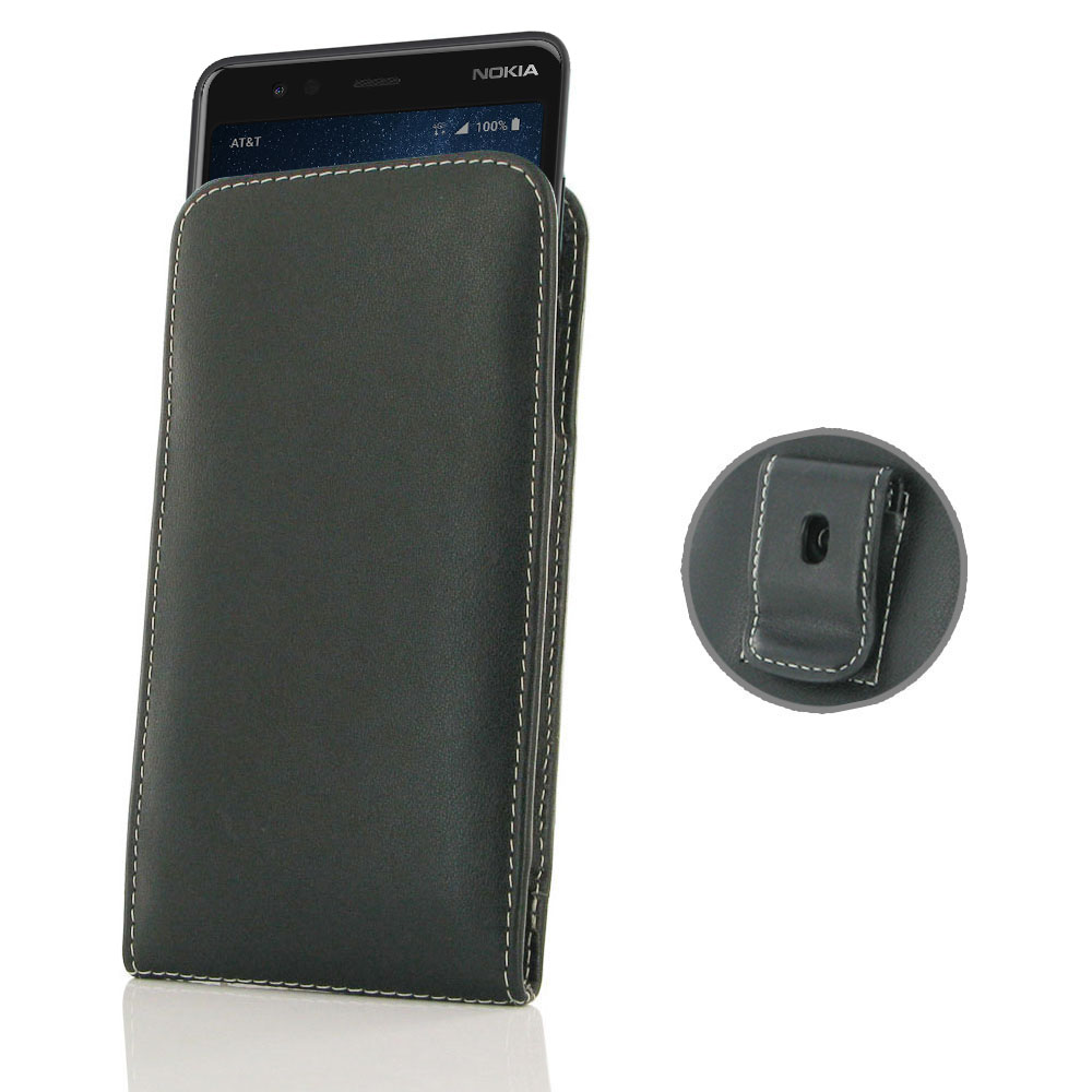 10% OFF + FREE SHIPPING, Buy the BEST PDair Handcrafted Premium Protective Carrying Nokia 3.1 A | 3.1 C Pouch Case with Belt Clip. Exquisitely designed engineered for Nokia 3.1 A | 3.1 C.
