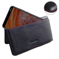 10% OFF + FREE SHIPPING, Buy the BEST PDair Handcrafted Premium Protective Carrying Nokia 3.1 Plus Leather Wallet Pouch Case (Red Stitch). Exquisitely designed engineered for Nokia 3.1 Plus.