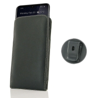 Leather Vertical Pouch Belt Clip Case for Nokia 3.2