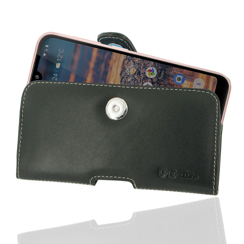 10% OFF + FREE SHIPPING, Buy the BEST PDair Handcrafted Premium Protective Carrying Nokia 4.2 Leather Holster Case. Exquisitely designed engineered for Nokia 4.2.