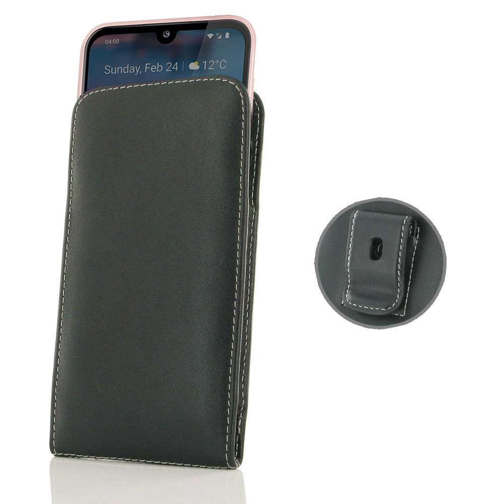 10% OFF + FREE SHIPPING, Buy the BEST PDair Handcrafted Premium Protective Carrying Nokia 4.2 Pouch Case with Belt Clip. Exquisitely designed engineered for Nokia 4.2.