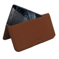 10% OFF + FREE SHIPPING, Buy the BEST PDair Handcrafted Premium Protective Carrying Nokia 5.1 Leather Wallet Pouch Case (Brown). Exquisitely designed engineered for Nokia 5.1.