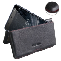 10% OFF + FREE SHIPPING, Buy the BEST PDair Handcrafted Premium Protective Carrying Nokia 5.1 Leather Wallet Pouch Case (Red Stitch). Exquisitely designed engineered for Nokia 5.1.