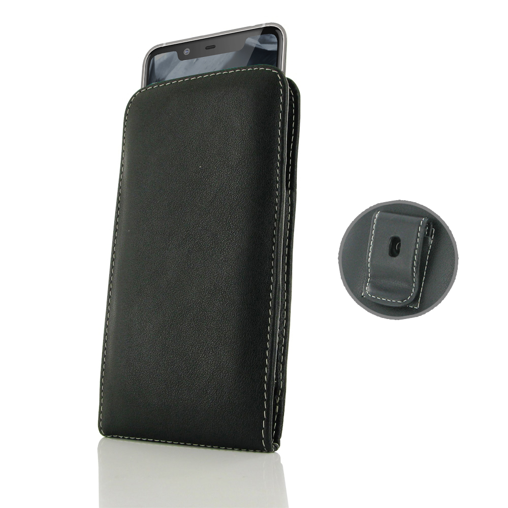 10% OFF + FREE SHIPPING, Buy the BEST PDair Handcrafted Premium Protective Carrying Nokia 5.1 Plus | X5 Pouch Case with Belt Clip. Exquisitely designed engineered for Nokia 5.1 Plus | X5.