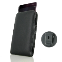 Leather Vertical Pouch Belt Clip Case for Nokia 6 (2018)