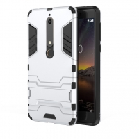 10% OFF + FREE SHIPPING, Buy the BEST PDair Premium Protective Carrying Nokia 6 (2018) Tough Armor Protective Case (Silver). Exquisitely designed engineered for Nokia 6 (2018).