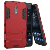 10% OFF + FREE SHIPPING, Buy Best PDair Premium Protective Nokia 6 Tough Armor Protective Case (Red). Exquisitely designed engineered for Nokia 6. You also can go to the customizer to create your own stylish leather case if looking for additional colors,