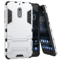 10% OFF + FREE SHIPPING, Buy Best PDair Premium Protective Nokia 6 Tough Armor Protective Case (Silver).Exquisitely designed engineered for Nokia 6 You also can go to the customizer to create your own stylish leather case if looking for additional colors,