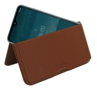 10% OFF + FREE SHIPPING, Buy the BEST PDair Handcrafted Premium Protective Carrying Nokia 6.2 Leather Wallet Pouch Case (Brown). Exquisitely designed engineered for Nokia 6.2.