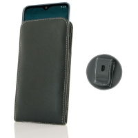 Leather Vertical Pouch Belt Clip Case for Nokia 6.2