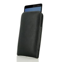 Leather Vertical Pouch Case for Nokia 7