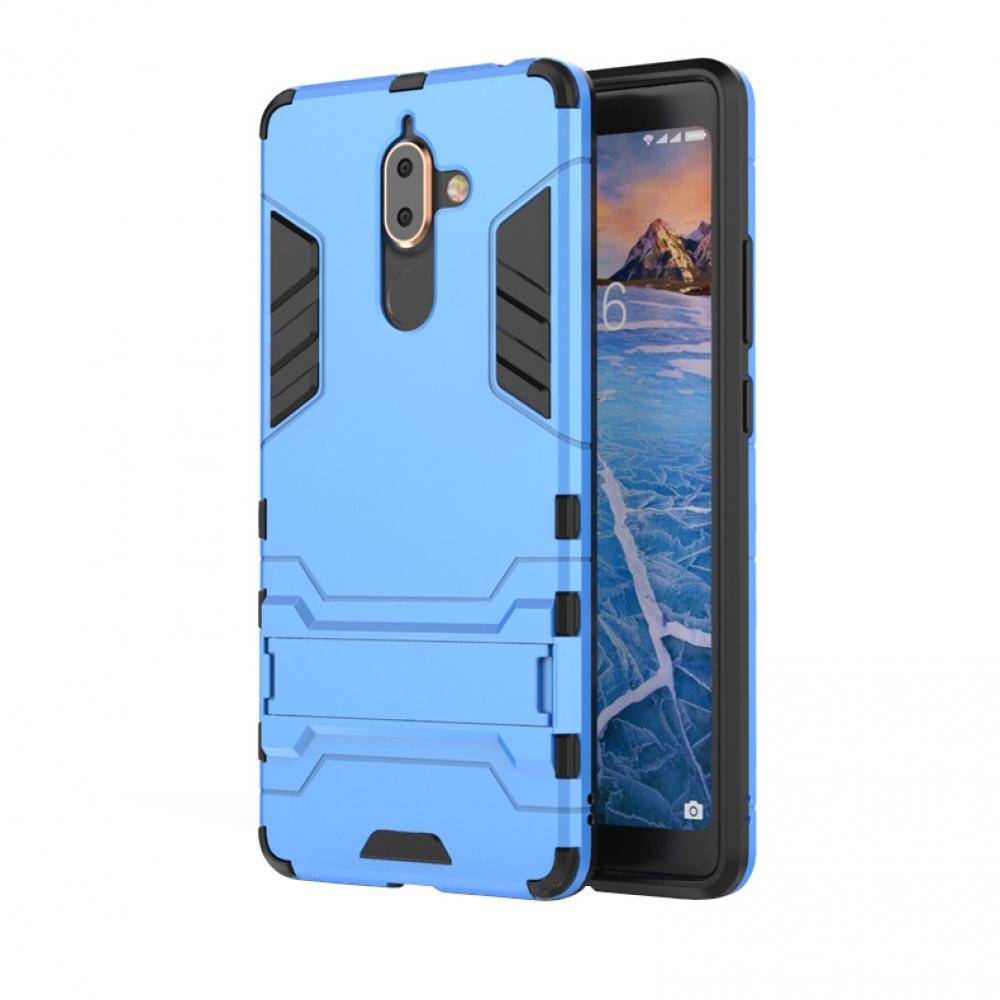huge selection of 18e15 6a337 Nokia 7 Plus Tough Armor Protective Case (Blue)