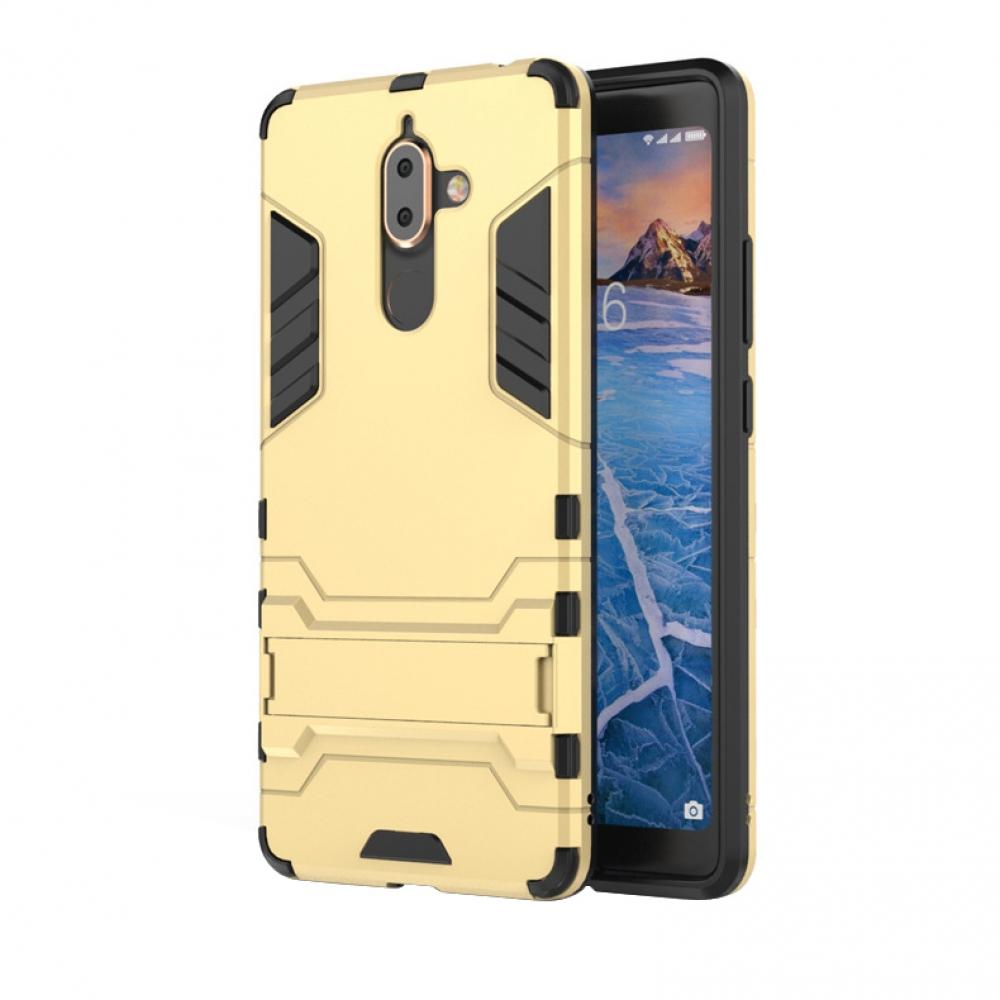 promo code c8417 03a1a Nokia 7 Plus Tough Armor Protective Case (Gold) :: PDair 10% OFF