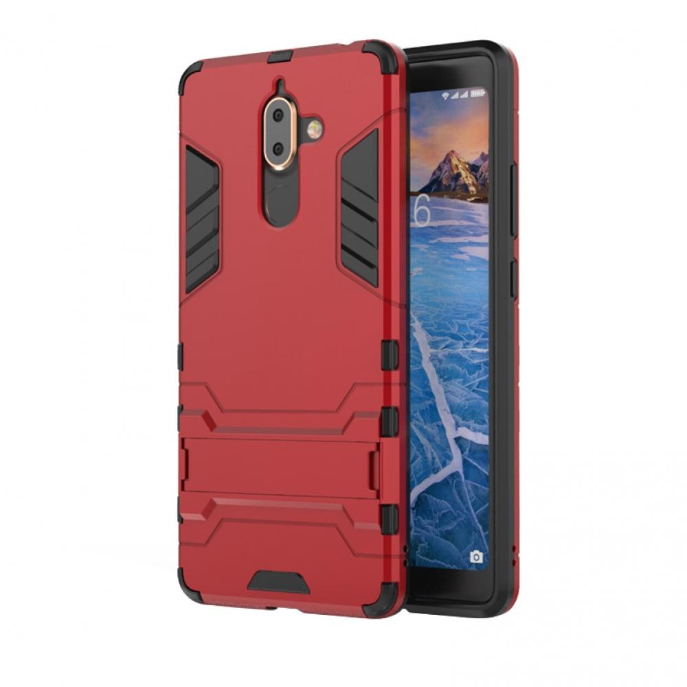 brand new 94fb0 21831 Nokia 7 Plus Tough Armor Protective Case (Red)