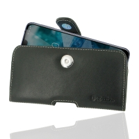 Leather Horizontal Pouch Case with Belt Clip for Nokia 7.1