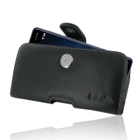 Leather Horizontal Pouch Case with Belt Clip for Nokia 8