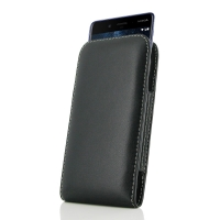 Leather Vertical Pouch Case for Nokia 8