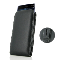 Leather Vertical Pouch Belt Clip Case for Nokia 8