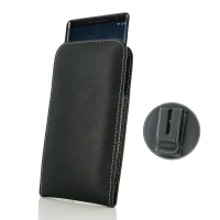 Leather Vertical Pouch Belt Clip Case for Nokia 8 Sirocco