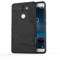 Nokia 8 Sirocco Tough Armor Protective Case (Black)