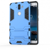 Nokia 8 Sirocco Tough Armor Protective Case (Blue)