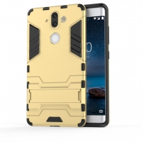 Nokia 8 Sirocco Tough Armor Protective Case (Gold)