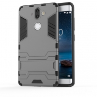 Nokia 8 Sirocco Tough Armor Protective Case (Grey)