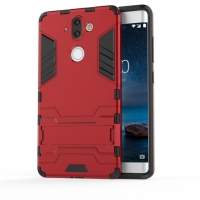 Nokia 8 Sirocco Tough Armor Protective Case (Red)