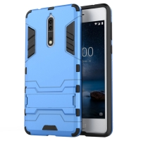 Nokia 8 Tough Armor Protective Case (Blue)