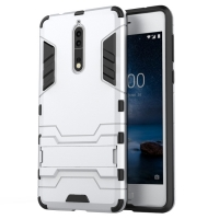 10% OFF + FREE SHIPPING, Buy the BEST PDair Premium Protective Carrying Nokia 8 Tough Armor Protective Case (Silver). Exquisitely designed engineered for Nokia 8.
