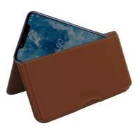 10% OFF + FREE SHIPPING, Buy the BEST PDair Handcrafted Premium Protective Carrying Nokia 8.1 | X7 Leather Wallet Pouch Case (Brown). Exquisitely designed engineered for Nokia 8.1 | X7.
