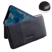 10% OFF + FREE SHIPPING, Buy the BEST PDair Handcrafted Premium Protective Carrying Nokia 8.1 | X7 Leather Wallet Pouch Case (Red Stitch). Exquisitely designed engineered for Nokia 8.1 | X7.