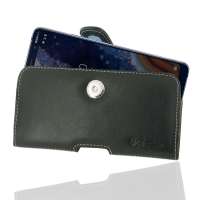 Leather Horizontal Pouch Case with Belt Clip for Nokia 9 PureView