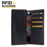 Nokia 6.1 Plus Leather Continental Sleeve Wallet
