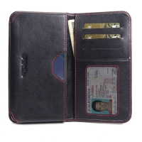 10% OFF + FREE SHIPPING, Buy the BEST PDair Handcrafted Premium Protective Carrying Nokia X71 Leather Wallet Sleeve Case (Red Stitch). Exquisitely designed engineered for Nokia X71.