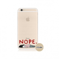 Nope Pattern iPhone 6s 6 Plus SE 5s 5 Pattern Printed Soft Case