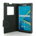 BlackBerry Priv Leather Smart Flip Case Cover (Green Stitch) protective carrying case by PDair