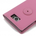 BlackBerry Priv Leather Flip Wallet Cover (Petal Pink) offers worldwide free shipping by PDair