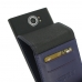 BlackBerry Priv Leather Flip Wallet Case (Purple) custom degsined carrying case by PDair